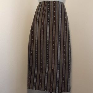 Basic Editions 90's Wrap Skirt Southwestern Style